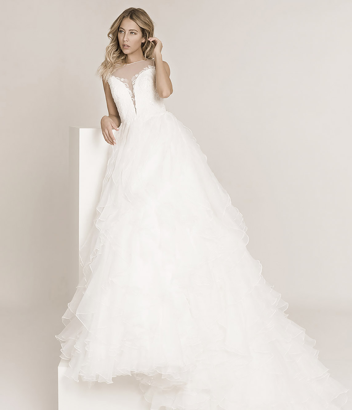 Your own bridal fashion store opening with bridal gowns for merchants